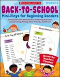 Back-to-School Mini-Plays for Beginning Readers