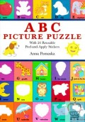 ABC Picture Puzzle: With 26 Reusable Peel-And-Apply Stickers