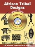 African Tribal Designs with CDROM