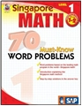Singapore Math 70 Must-Know Word Problems: Level 1, Grades 1-2