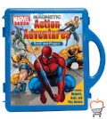 Marvel Heroes Action Adventures: Book & Playset with Book(s) and Other and Magnet(s)