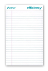 "Evidence Legal Pad, White, 5"" x 8"""