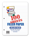 Evidence Notebook Filler Paper, College Ruled