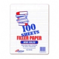 Evidence Notebook Filler Paper, Wide Ruled