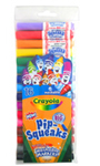 Pip-Squeaks Markers, 16 count fine tip in clear peggable pouch
