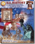 U.S. History: Inventors, Scientists, Artists, & Authors, Grades 6 and up