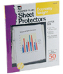 Top Loading Sheet Protectors, Clear