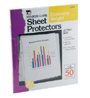 Top Loading Sheet Protectors, Reduced Glare