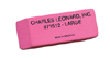 Pink Economy Wedge Erasers, Large, 12 per box