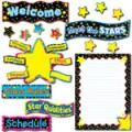 Poppin Patterns Back-to-School Stars Bulletin Board Set