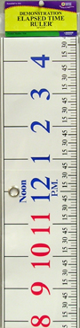 Demonstration Elapsed Time Ruler