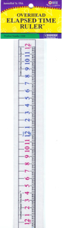 Overhead Elapsed Time Ruler