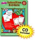 Schooltime Borders Clip Art with CD