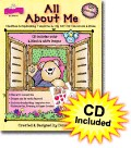 All About Me Clip Art with CD