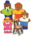 Goldilocks and the Three Bears FingerTale Puppets