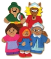 Little Red Riding Hood FingerTale Puppets