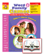 Word Family Games, Level D, Grades 1-3