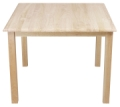 Hardwood Square Childrens Tables