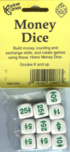 Money Dice, Set of 10