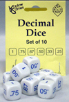 Decimal Dice, Set of 10