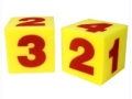 Giant Soft Cubes, Numerals, Set of 2