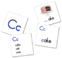 Tabletop Pocket Chart Card Sets, Alphabet Photograph Cards