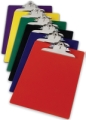 Recycled Plastic Antimicrobial Clipboards, Red