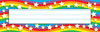 Star Rainbow Desk Toppers Name Plates