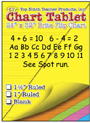 "Chart Tablets, 24"" x 32"" Assorted 1 1/2"" Ruled"