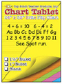 "Chart Tablets, 24"" x 32"" Assorted 1"" Ruled"