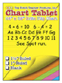 "Chart Tablets, 24"" x 32"" Assorted Blank"