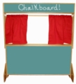 Deluxe Puppet Theater, Chalkboard