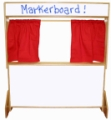 Deluxe Puppet Theater, Markerboard
