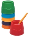 Stable Water Pots, Set of 6 assorted colors