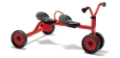 Push-Bike With 2 Seats Viking Trike