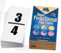 Basic Fractions Flash Cards