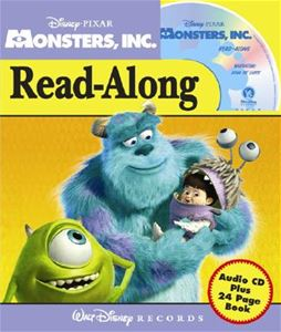 Disney S Monsters Inc With Paperback Book School Supply Store