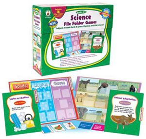 Science File Folder Games, Grades 2-3