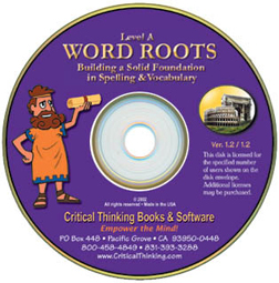 Word Roots Software, Level A1