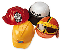 Kid-Size Career Hats