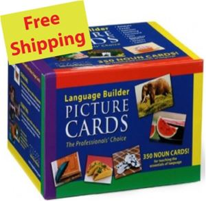 Language Builder Picture Nouns Cards